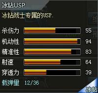 创世兵魂冰钻USP属性,创世兵魂冰钻USP多少钱,创世兵魂武器大全