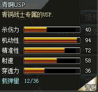 创世兵魂青铜USP属性,创世兵魂青铜USP多少钱,创世兵魂武器大全