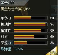 创世兵魂黄金USP属性,创世兵魂黄金USP多少钱,创世兵魂武器大全