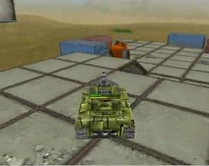 3D坦克高地争夺战